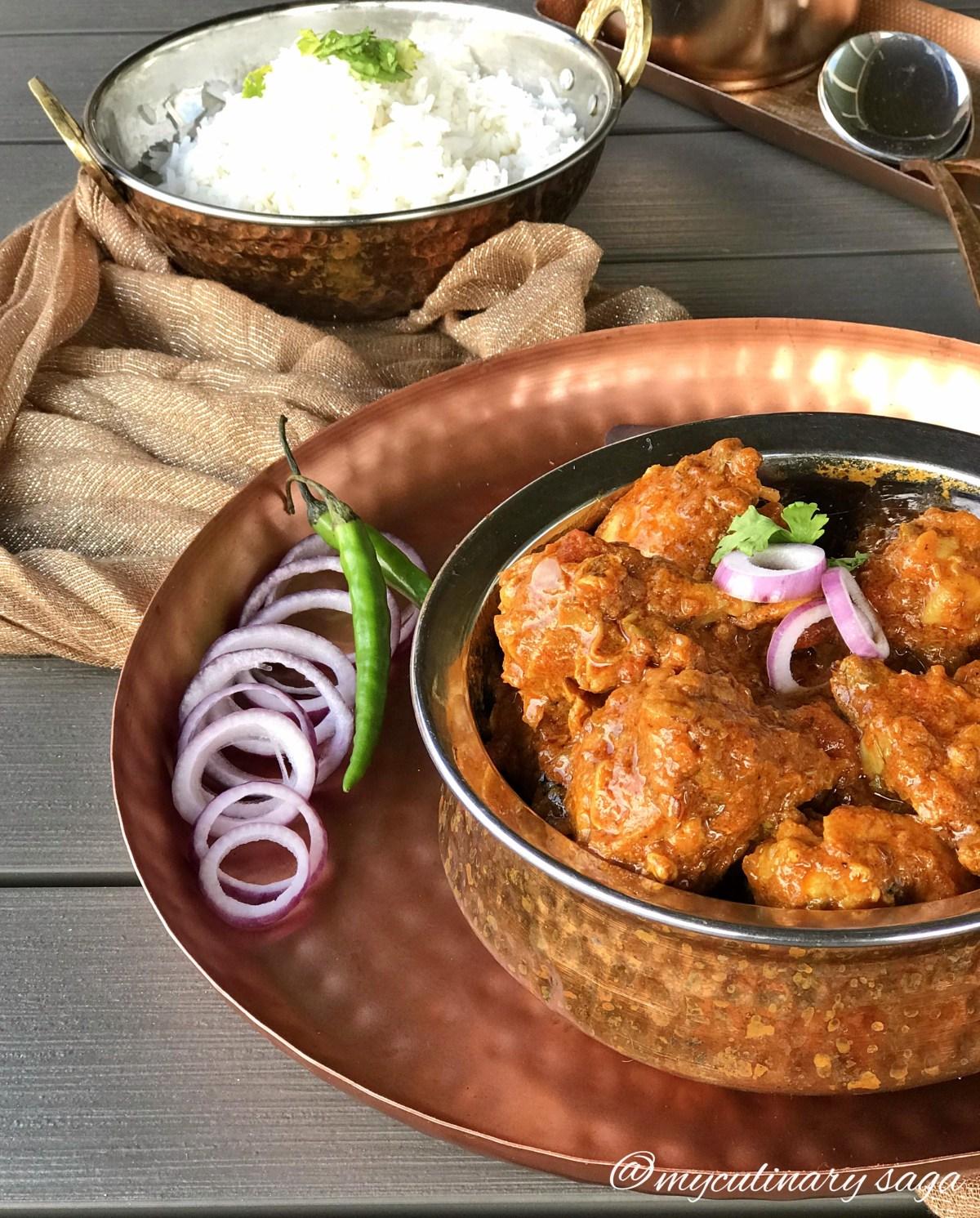 Quick Bhuna Chicken