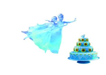 topper-frozen-fever-cake