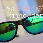How to: een happy list bijhouden