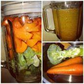 Carrots and Broccoli Shake
