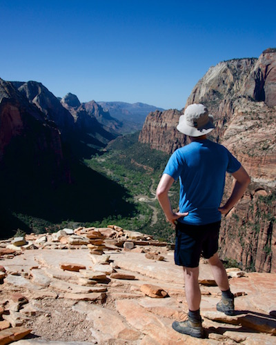 Angel's landing hike Zion National park
