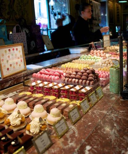 dessert shop in France