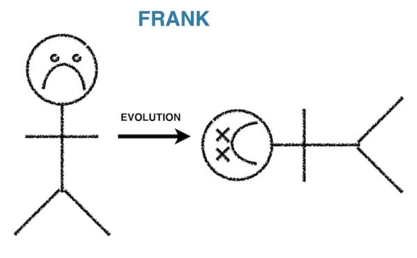 Frank the caveman