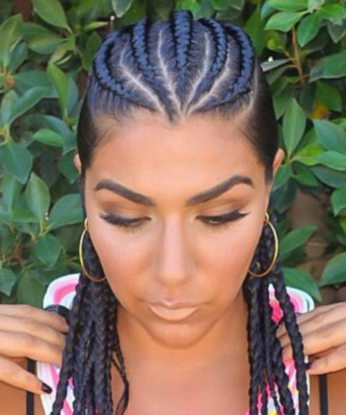 6 Cornrow Hairstyles Thatll Make Your Mouth Drop   My