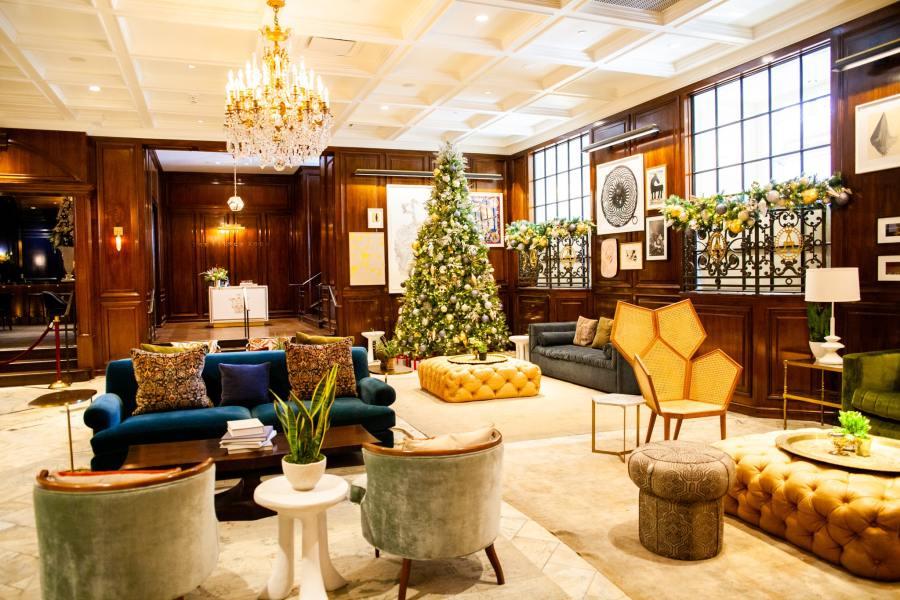 Adolphus Christmas Tea 2020 Christmas at the Adolphus Hotel   My Curly Adventures