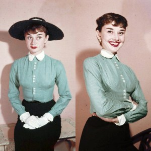 audrey 1951 dress