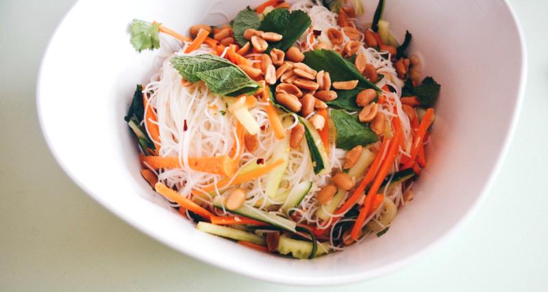 3. asian salad