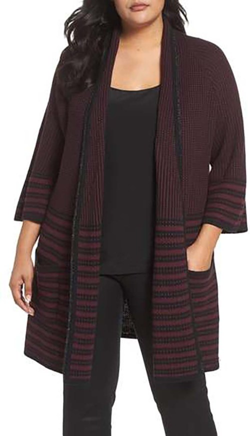 Plus Size Long Cardigans To Wear With Leggings This Fall