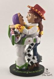 Buzz Light Year Jessie Custom Wedding Cake Topper