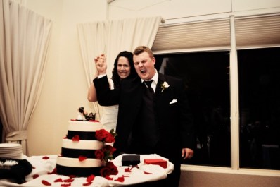Chris And Amanda's Custom Hunting Cake Topper