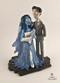 Corpse Bride Custom Wedding Cake Topper