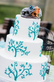 Erica's Bearded Dragon Cake Topper