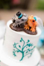 Erica's Bearded Dragon Cake Topper