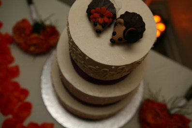 Gerard's Hedgehog Wedding Cake Topper