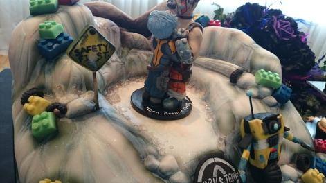 Jenn's Borderlands Cake Topper
