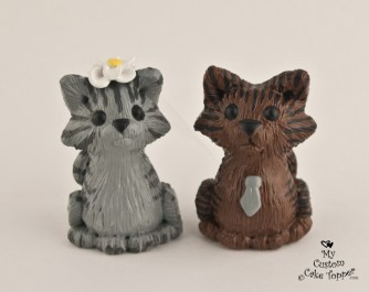 Kitty Cats Cake Topper