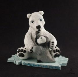 Polar Bear and Penguin Cake Topper