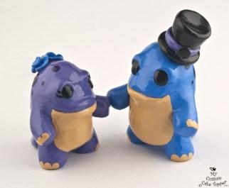 Quaggans Wedding Cake Topper