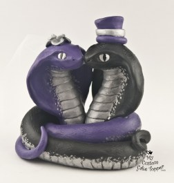 Snake Love Vipers Cake Topper