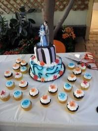 Tanya's Corpse Bride Cake Topper