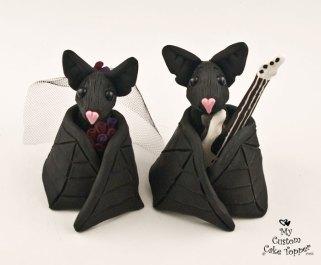 Black Bats with a Guitar