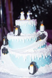 Juliet's Penguin Cake Topper