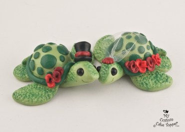 Love Turtles Red