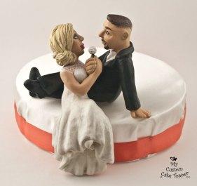 Realistic Bride and Groom Dandelion