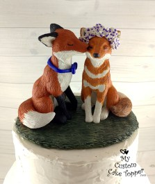 Realistic Fox and Ethiopian Wolf