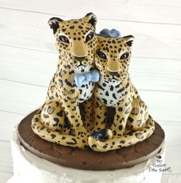 Jaguar Cats Bride and Groom