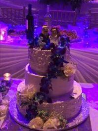 Sheila's Minion Wedding Cake Topper