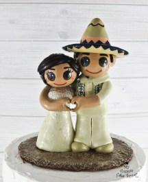 Bride and Groom Mexican Sombrero