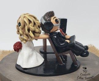Bride Dragging Gaming Groom