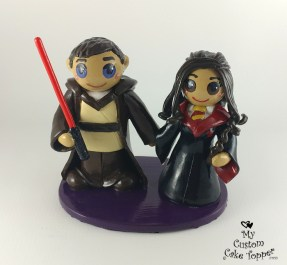 Bride and Groom Star Wars Harry Potter