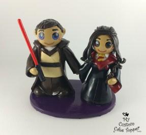 Bride and Groom Star Wars Harry Potter