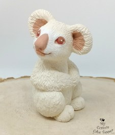 Albino Koala Sculpture