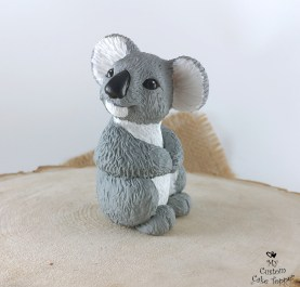 Realistic Koala Bear Sculpture