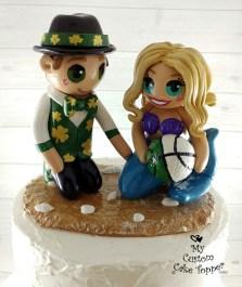 Leprechaun Groom and Mermaid Bride, Basketball