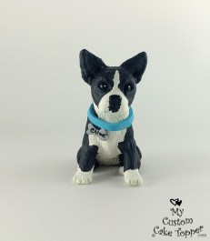 Boston Terrier Dog Cake Topper