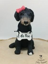 Labradoodle Dog Cake Topper