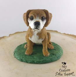 Puggle Gus Gus Pet Portrait