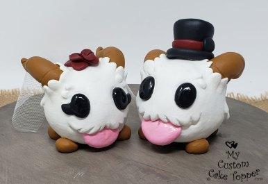 Poros League of Legends Cake Topper