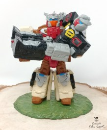 Transformers Chromedome and Rewind Cake Topper