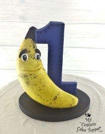 Banana Birthday Cake Topper