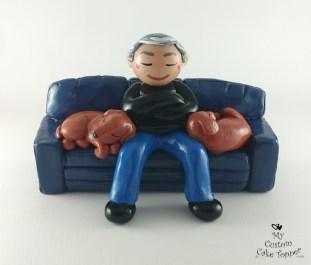 Retirement Relaxing Cake Topper