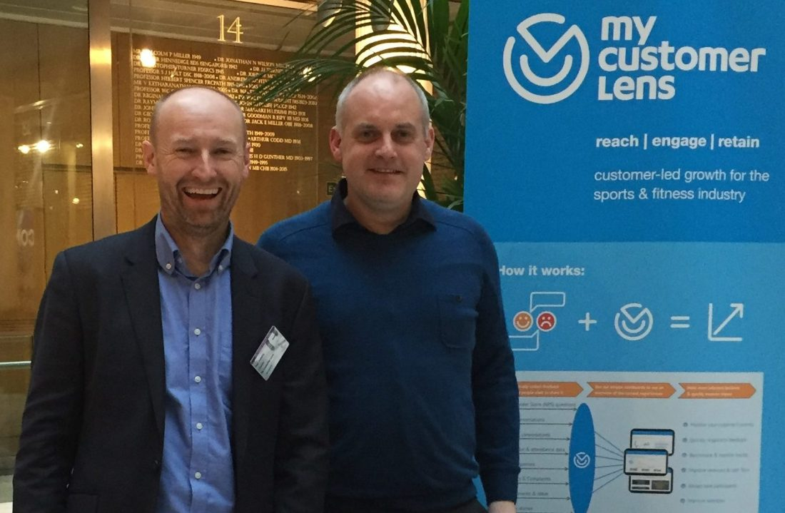 About MyCustomerLens - co-founders Paul Roberts and Mike Evans