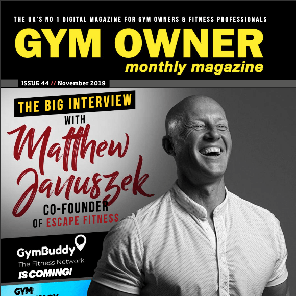 Gym Owner Monthly featuring MyCustomerLens