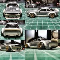How To Make a Widebody Rocket Bunny Kit for Hot Wheels