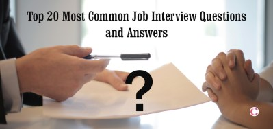 Top 20 Most Common Job Interview Questions and Answers