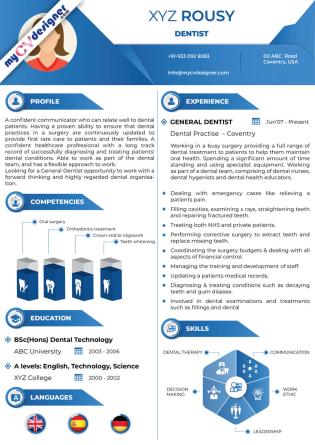 Visual CV (MCDV0015)
